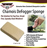 Chamois DeFogger Sponge by Ever New Automotive Revolutionary Design! The Solution for Fog Free, Streak Free, Squeaky…