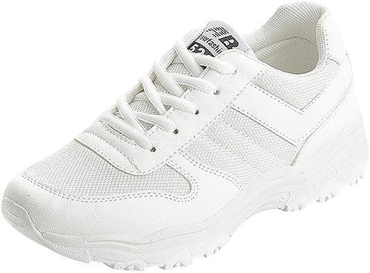 Tefamore Mujer Zapatos de Deportivas Sneakers para Caminar Zapatillas Aptitud Montañismo Running Zapatos: Amazon.es: Zapatos y complementos