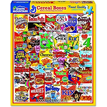 White Mountain Puzzles Potato Chips 1000 Piece Jigsaw Puzzle
