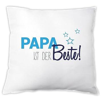 Kissen Papa Ist Der Beste Zierkissen Dekokissen Geschenkidee Vatertagsgeschenk Geschenk Zum Vatertag Geburtstag Zu Weihnachten