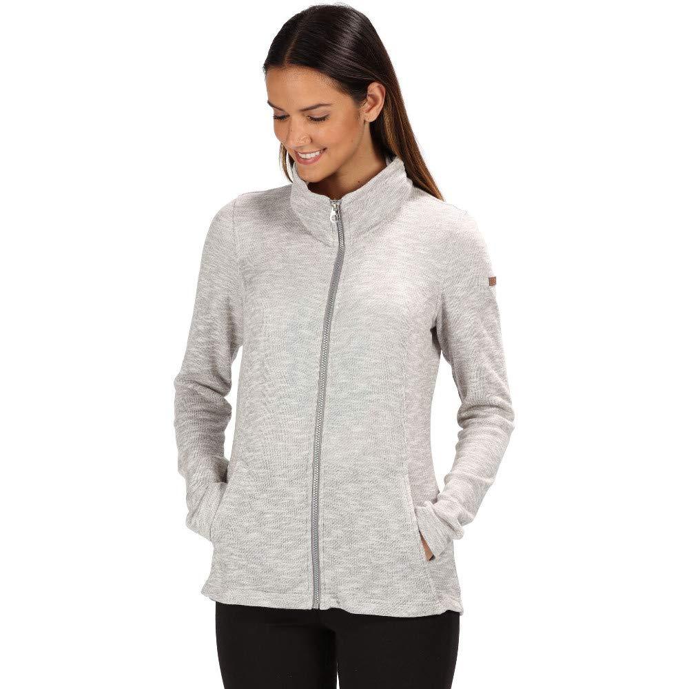 Regatta Womens Finella Full Zip Marl Fleece