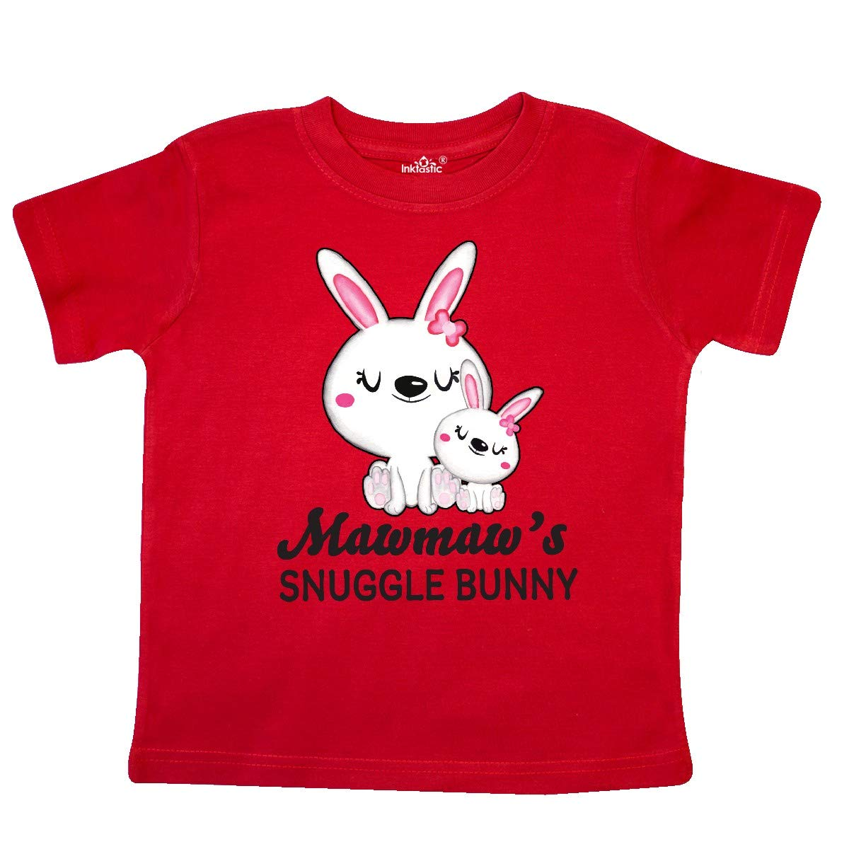 inktastic Mawmaws Snuggle Bunny Easter Toddler T-Shirt