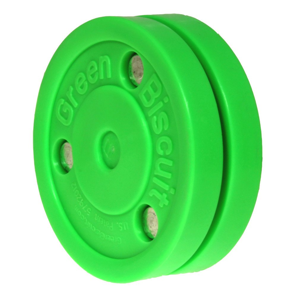 Green Biscuit Combo//2-Packs Hockey Training Pucks Color//Style Choice