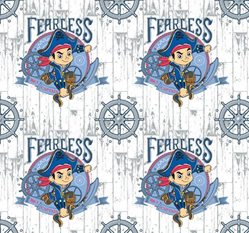 (FLANNEL Disney Jake and the Neverland Pirates Fabric From Camelot By the)