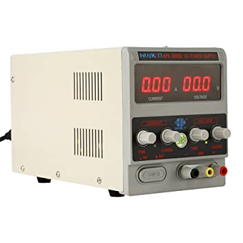 Fuente de alimentación de laboratorio dispositivo 30 V/5 A Fuente De Alimentación DC ajustable Reparación Potencia Alimentación DC regulable para ordenador ...