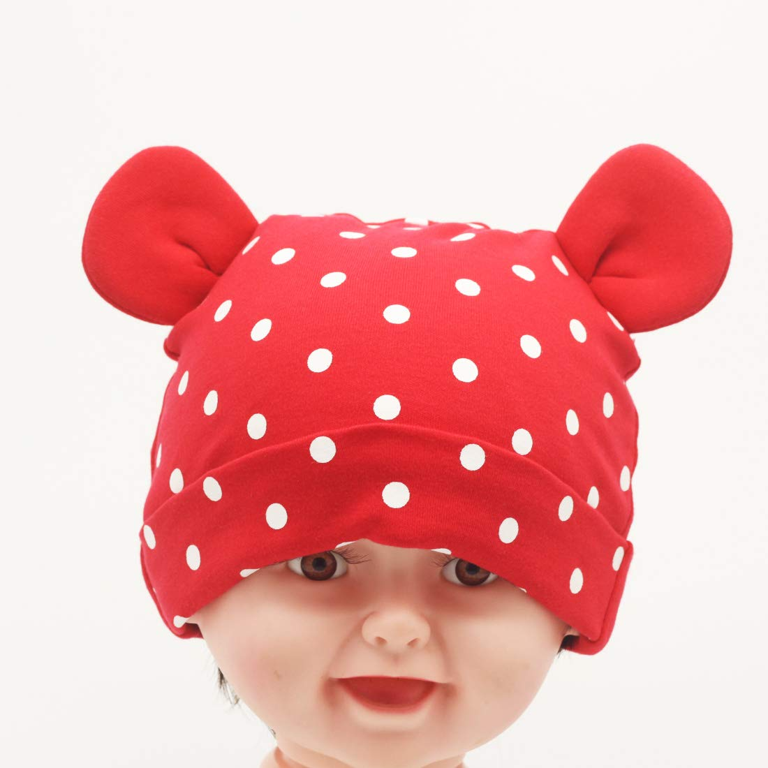 Nihao Baby Hat Ears Toddler Infant Girls Boys Cat Bear Ear Hat Beanie Cap Baby Boys Hats & Caps