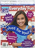 AMERICAN GIRL EVERYDAY FUN, 2016 ISLAND PARTY * CRAFT FAIR * SMOOTHIES RAINBOW