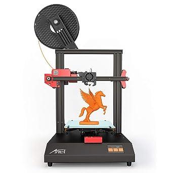 Anet ET4 Impresora 3D, marco de metal de cristal con pantalla ...