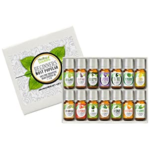 Healing Solutions Beginners Aromatherapy Essential Oil Kit