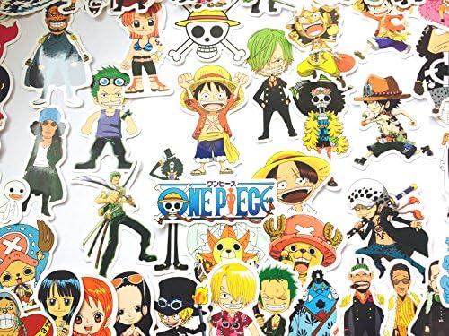 Pegatina ONE PIECE Sticker Manga de una Pieza (46 Piezas) Stickers Bomb: Amazon.es: Coche y moto