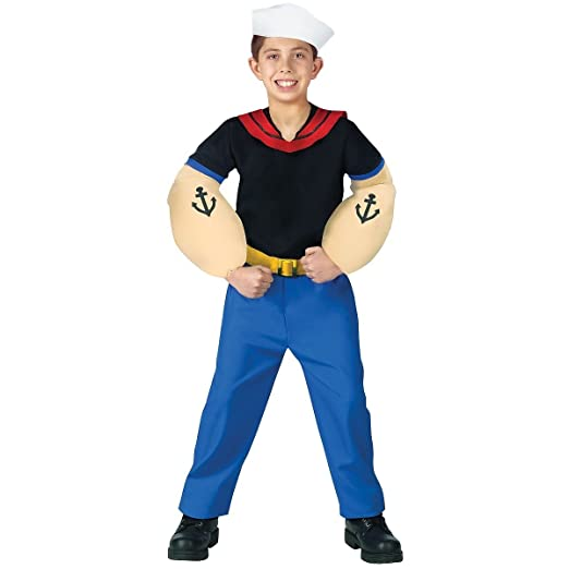 sc 1 st  Amazon.in & Buy Popeye Costume - Large Online at Low Prices in India - Amazon.in