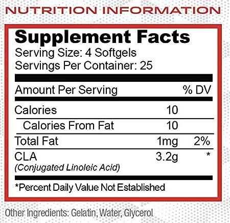 Amazon.com: Purus Labs CLA - Stimulant Free, Foundation Series, Pure CLA,  Pure Conjugated Linoleic Acid, Weight Loss Supplement - 100 Softgel  Capsules: Health & Personal Care