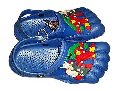 c52fd83aad076 Blue Marvel s Avengers Kids Silly Feet Clogs Medium ...