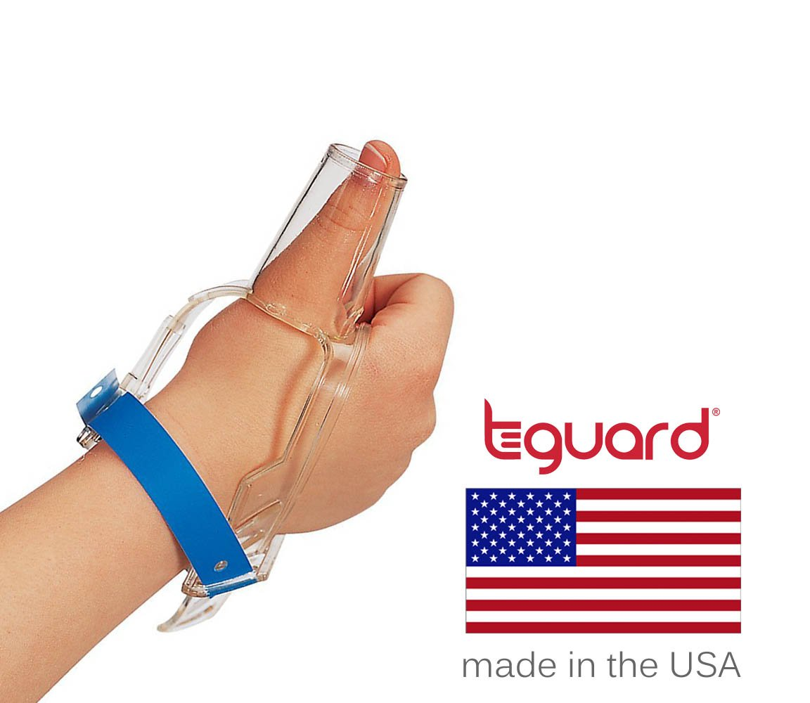 Treatment Kit to Stop Thumb Sucking by TGuard brand ThumbGuard (Large (Ages 7+))