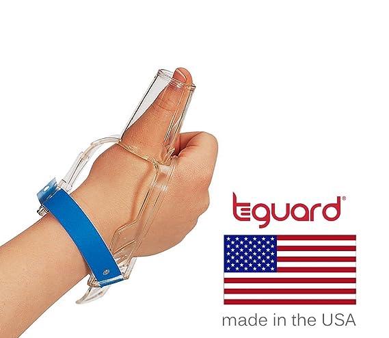 Kit de tratamiento para dejar de chuparse el dedo por Tguard ThumbGuard (Medium)