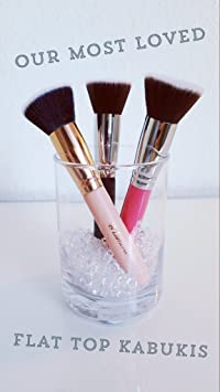Amazon.com: Foundation Makeup Brush Flat Top Kabuki for Face ...