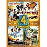 4 Family Films: Askari / Top Enders / Peter and Pompey / The Gift