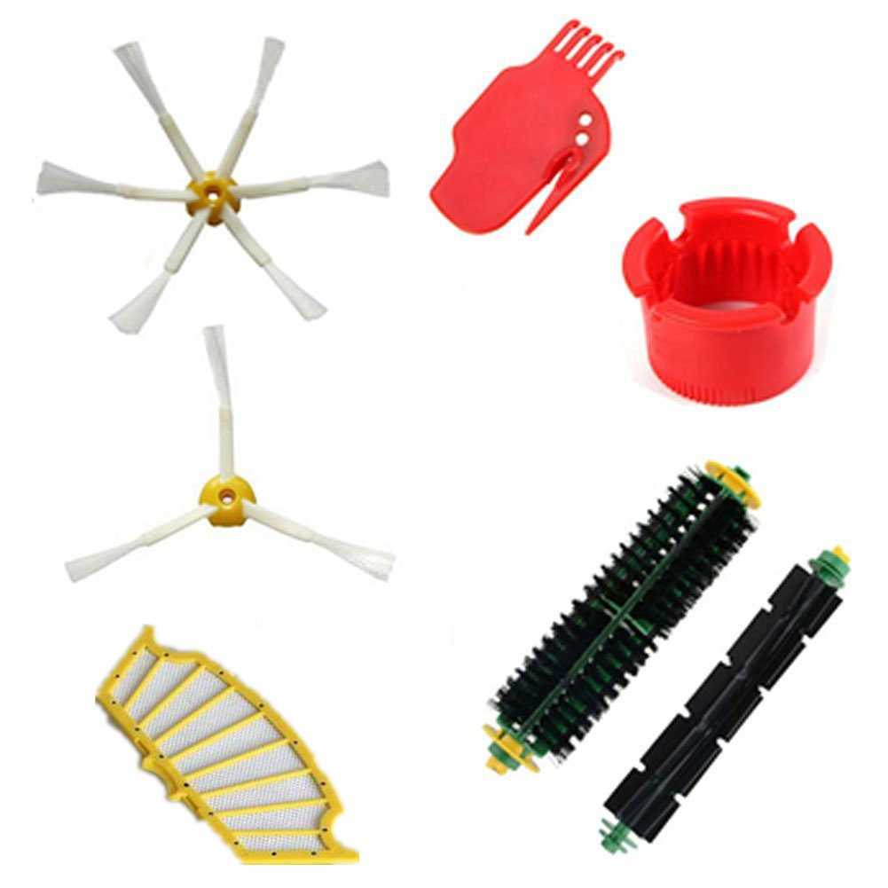 LOVE(TM)Accessory for Robot 500 Series 510 530 540 555 560 570 580 590 Series Vacuum Cleaner Replacement Part Kit