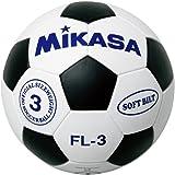 ミカサ ミカサジュニアサッカーボール3号白黒 普及品 FL3-WBK
