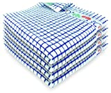 Fecido Fruity Kitchen Dish Towels - Set of 4, Blue Cherry