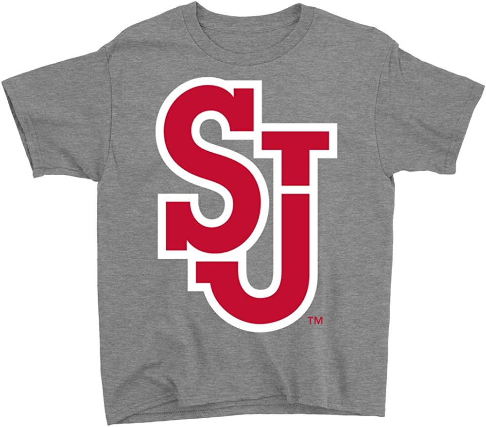 NCAA St RYLSTJ06 Youth T-Shirt Johns University Red Storm