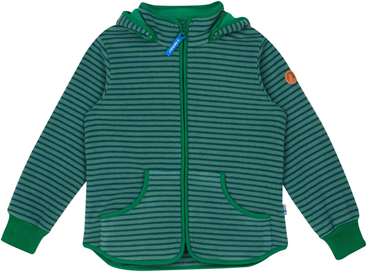 Finkid Tonttu Wind pebble Kinder Zip In Wollstrick Fleece Windstop Jacke