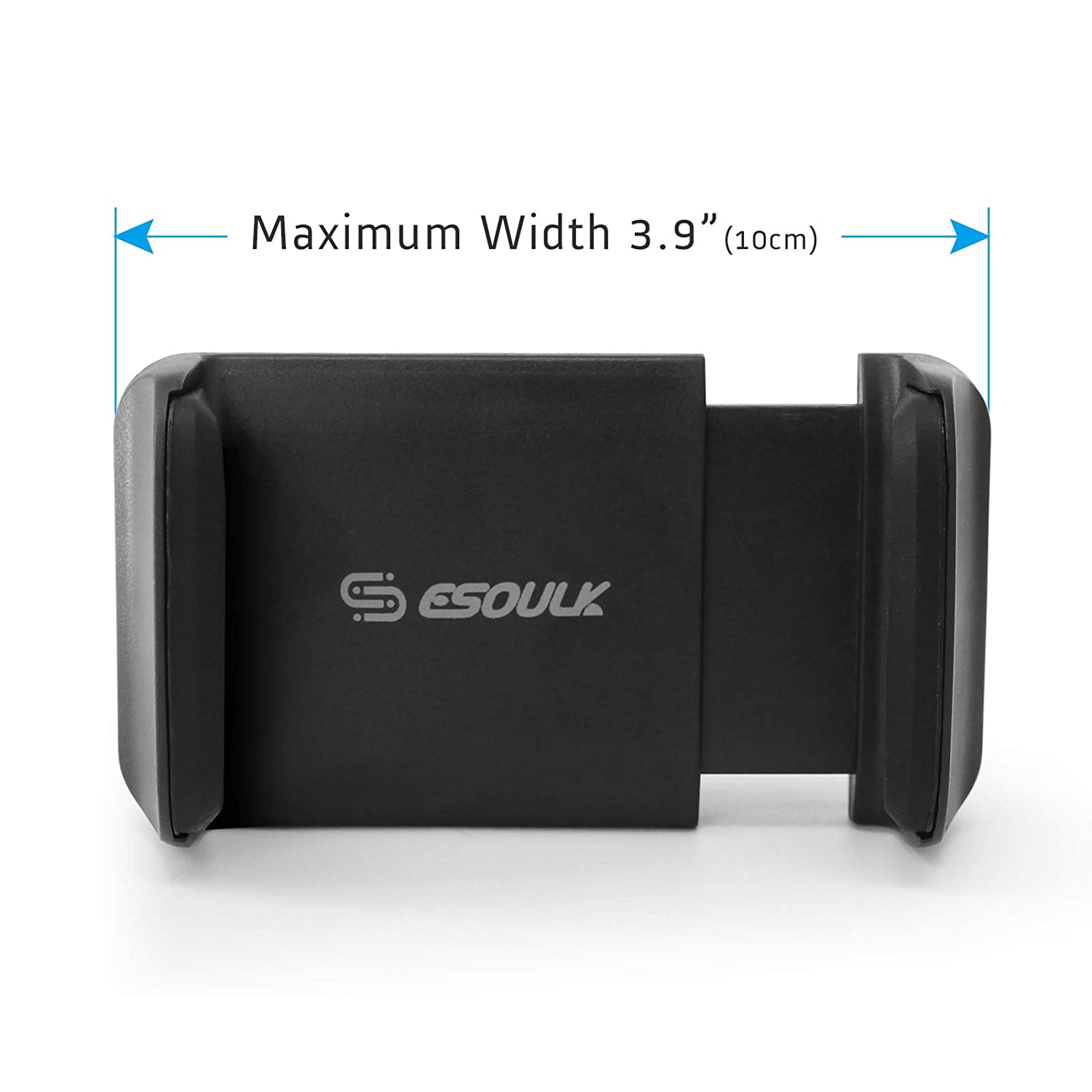 Esoulk Universal 360 Rotate Car Air Vent Phone Cradle Mount for All 3.5-6 inches Cellphones Including Compatible iPhone SE//6s//7//8//8plus//X//XS Max,Samsung Series and moreBlack 3 Pack