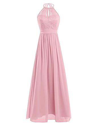 Berühmt iEFiEL Damen Kleider Elegant festlich Hochzeit Sommer Kleider Lang &IL_44