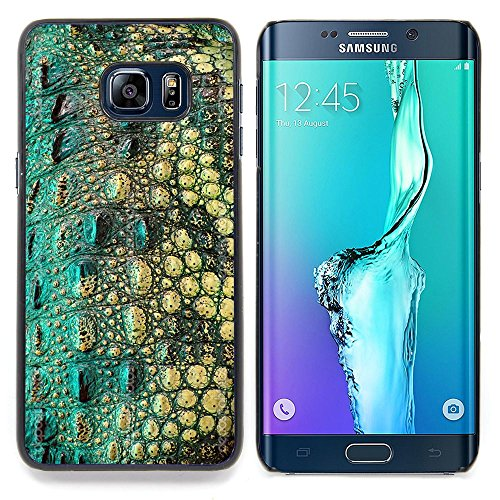 All Phone Most Case / Special Offer Smart Phone Hard Case Cool Image PC Skin Cover Protective Case for Samsung Galaxy S6 Edge Plus / S6 Edge+ G928 // Crocodile Skin Pattern Nature Reptile