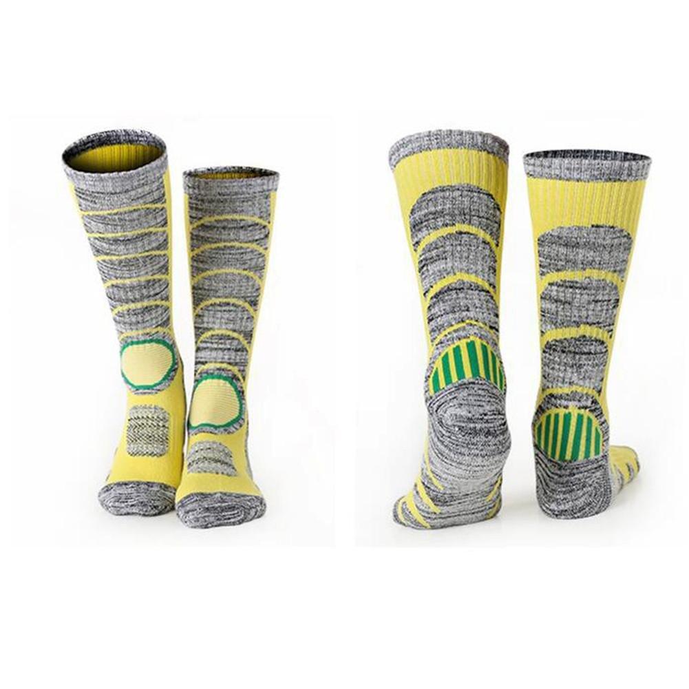 ZHUOTOP 1 par calcetines de esquí, weimeet rodilla alta cálido Esquí Snowboard calcetines para hombres y mujeres deportivo para correr, deportes, Crossfit, ...