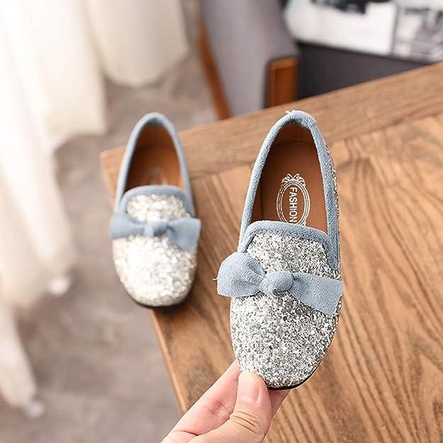 1a084475d301a Xmiral Chaussure Enfant Fille Princesse Soulier Danse Bowknot Crystal Bling  fête  Amazon.fr  Chaussures et Sacs