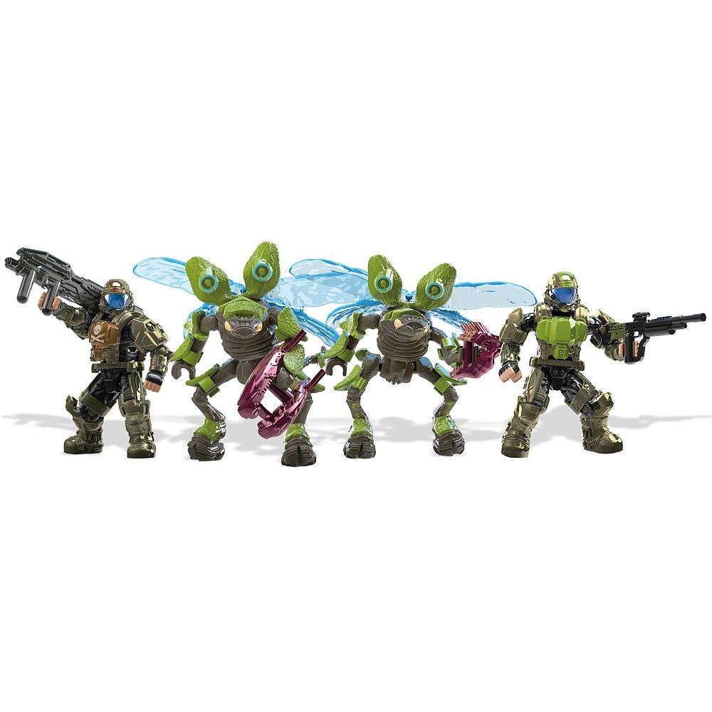 Halo Mega Bloks ODST Troop Battle Pack: Amazon.es: Juguetes ...