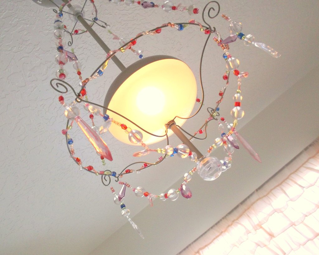 Amazon.com: Ikea Minnen Coloful Beads Chandelier Hanging Pendant ...