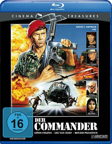 7613059404441 Ean Der Commander Cinema Treasures Blu