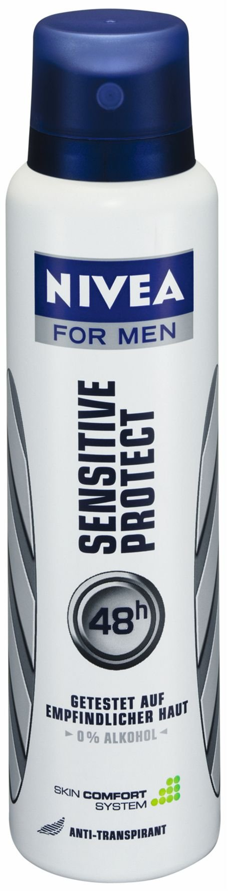 Nivea for Men Sensitive Protect Anti-Transpirant Deodorant Spray, 150 Ml