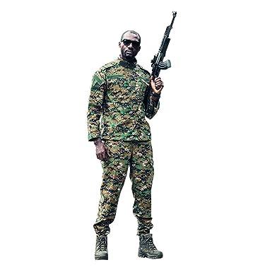 WOJIAO - Traje de Combate táctico de Camuflaje Militar para ...