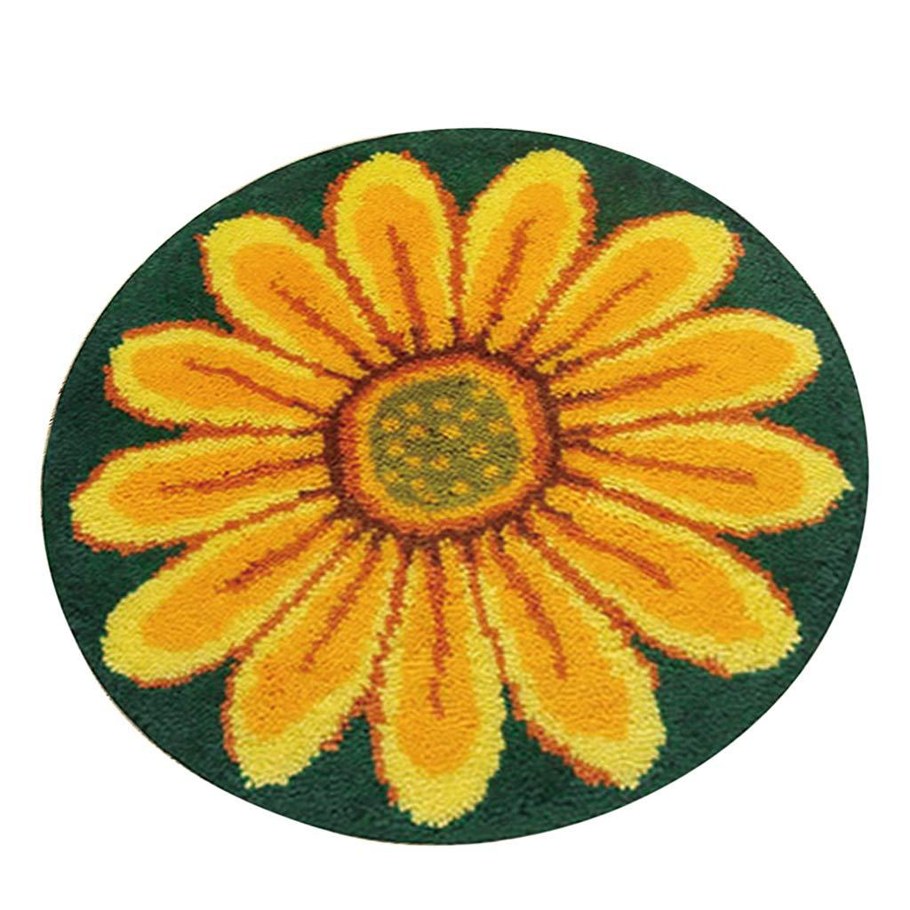 Football Prettyia Cartoon Latch Hook Kit Rug Cushion DIY Craft Needle Embroidery for Adults
