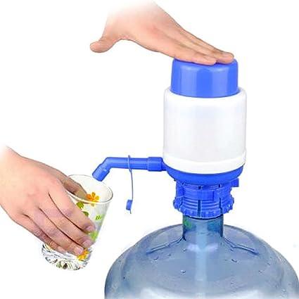 Dispensador manual para bidones, grifo con bomba de agua