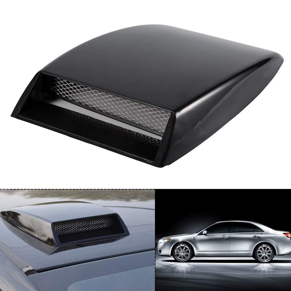 Bonnet Vent Cover Color : Silver Biuzi Universal Auto Car Air Flow Intake Scoop Bonnet Vent Sticker Cover Hood Silver