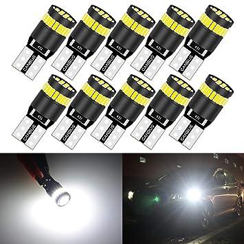Canbus Fehlerfrei 2 Glühbirnen x 8 SMD LED W5W T10 501 Standlicht Weiß