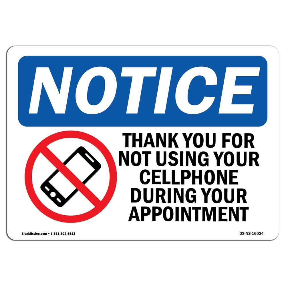 OSHA通知サイン  Heavy Duty Signまたはラベル 10