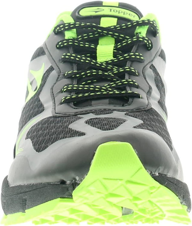 Wynsors Topper M Hombre Zapatillas de Senderismo Negro/Lima - Negro/Lima - GB Tallas 5-11 - Negro/Lima, 28.5 EU: Amazon.es: Zapatos y complementos