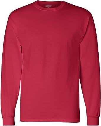 XX-Large Pink American Apparel Fine Jersey Long Sleeve T-Shirt