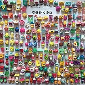 2016 Random Lot of 100PCS Shopkins of Season 1 2 3 4 Loose Toys Kids Girls Gift