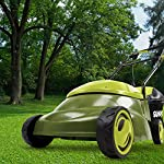 Sun joe mj401e 12 amp electric lawn mower 12 powerful: 13-amp motor cuts a 14-inch wide path adjustable deck: tailor cutting height with 3-position height control steel blades: durable 14-inch steel blade cuts with precision