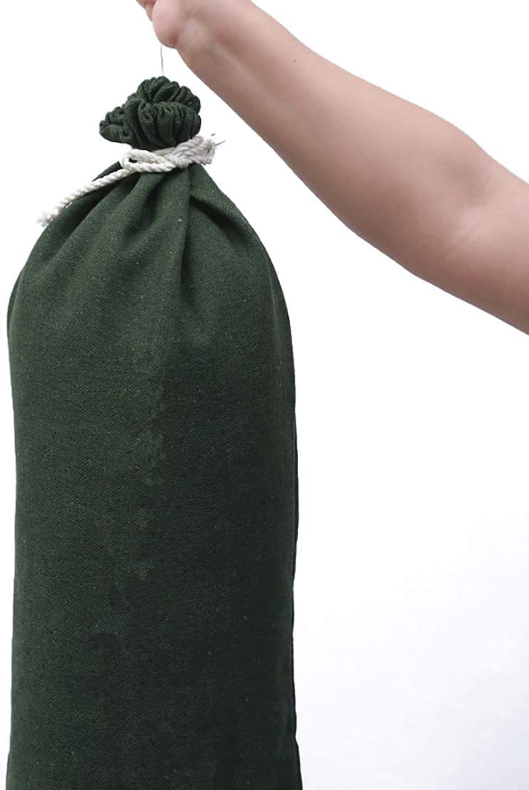 OriginA Empty Sandbag Flood Barrier Sand Bags for Flood Control 20 Pack Green 18x30in Eco-Friendly