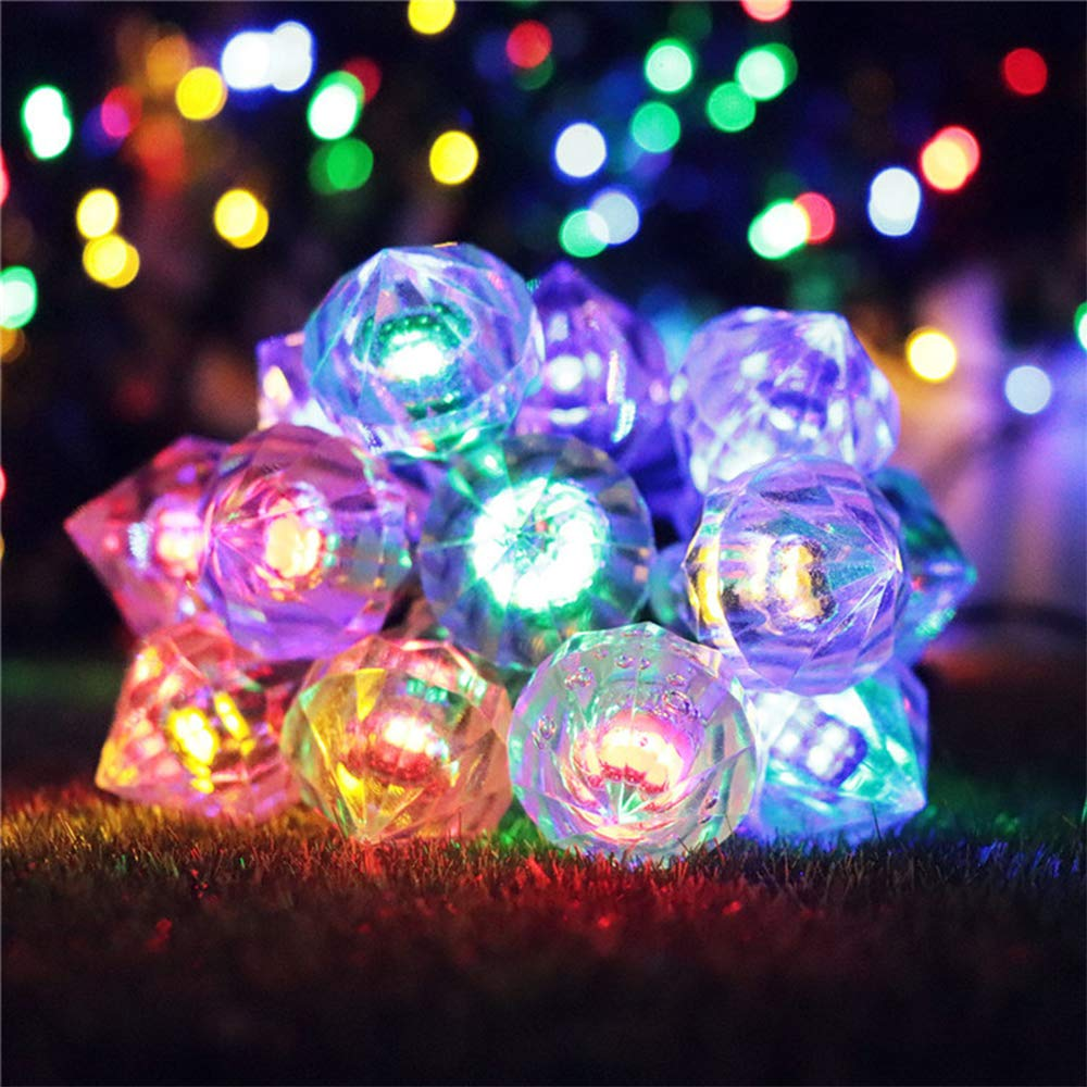 XIYU 15ft 4.8m Christmas Tree String Light 30 LED Solar Diamond String Constant//Flash Girl Fairy Lights Ourdoor Waterproof Work Time 8h for Garden Patio Yard Home Party