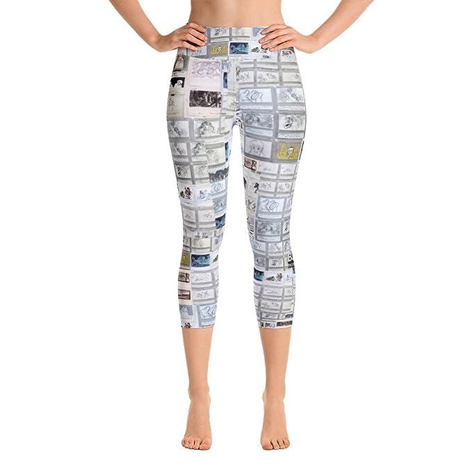 Amazon.com: Bakshi yudis Maui Yoga Capri Leggings en ...