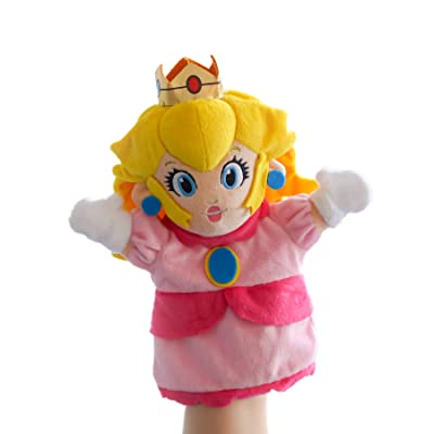 Hashtag Collectibles Princess Peach Puppet (Super Mario): Toys & Games