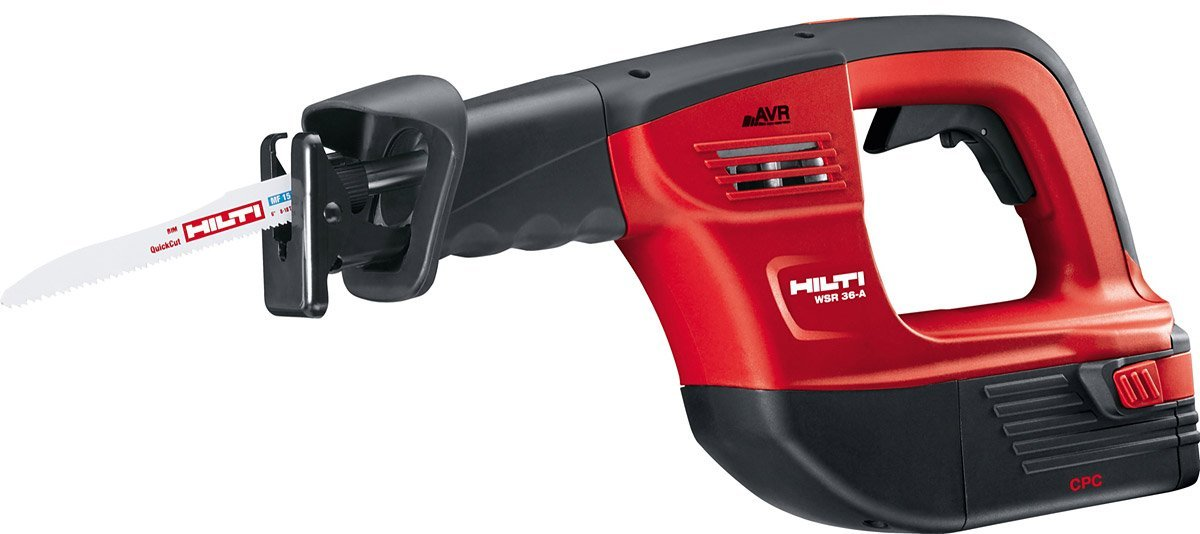 Hilti 03487010 Cordless Reciprocating Saw Kit, 36-volt [並行輸入品] B06XFCXVWV
